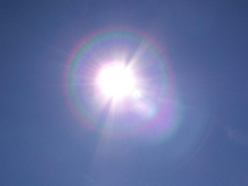 Blauer Himmel, Sonnenschein
